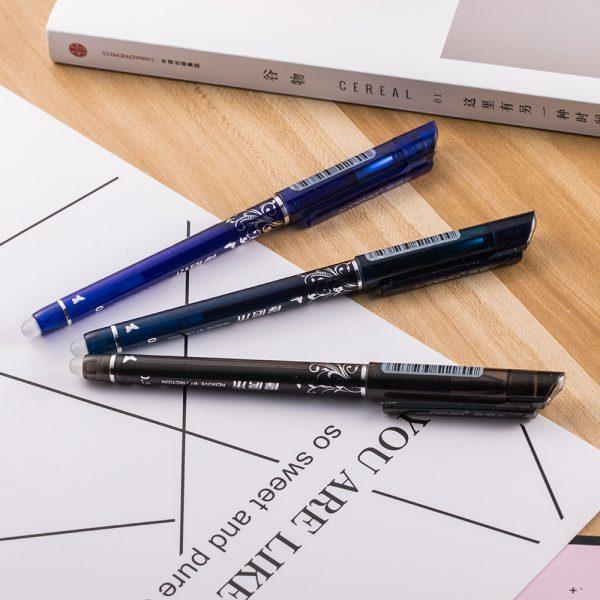 1pcs Erasable Pen Blue / Black / Ink Blue Magic Pen Office Supplies Student Exam SpareSchool supplies