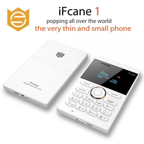 Original iFcane E1 Small Russian ,German,French Italian,Arabic vibration Ultrathin Card Mini Mobile Cell Phones Hebrew keyboard