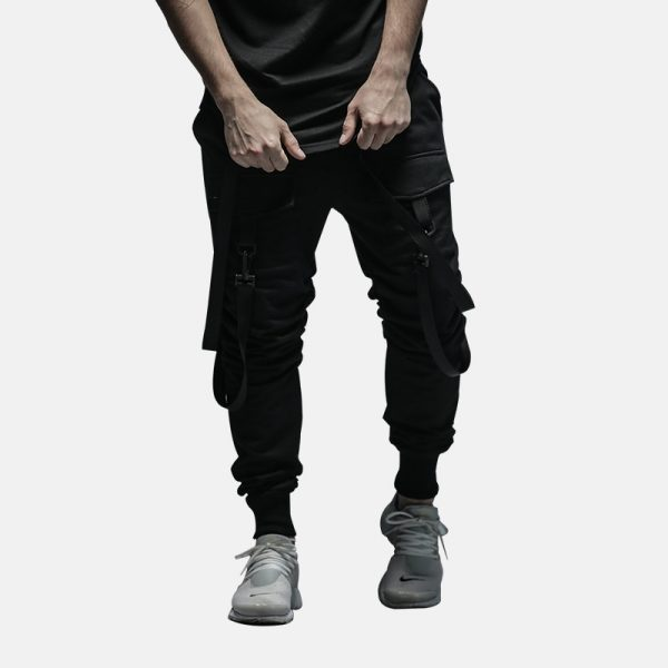 HEYGUYS 2018 New Dry Men's Pants pocket Full Length Men HIPHOP joggers Pants Plus Size Trousers  men belt women streetwear
