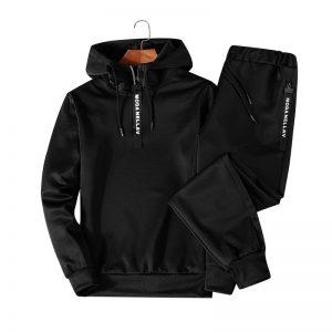 Men Clothing Set Sportswear 2018 Autumn New Hoodies Sweatshirts Sporting Sets Men's Tracksuits Two Piece Hoodies+Pants 2pcs Sets