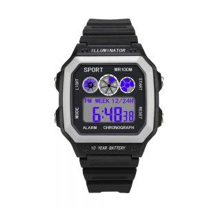 relogio masculino 2018 Watches Men Watch Electronic Digital Display Retro Style Clock Men Relogio Male reloj hombre Men's Watch