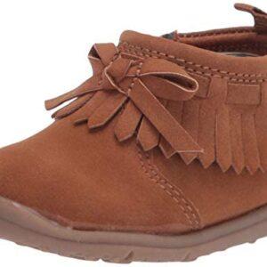 Carter's Every Step girls infant 1st walker Camber fringe fashion boot