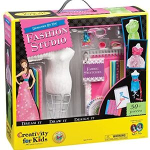 Creativity for Kids Designed by You Fashion Studio, Fashion Design Kit For Kids