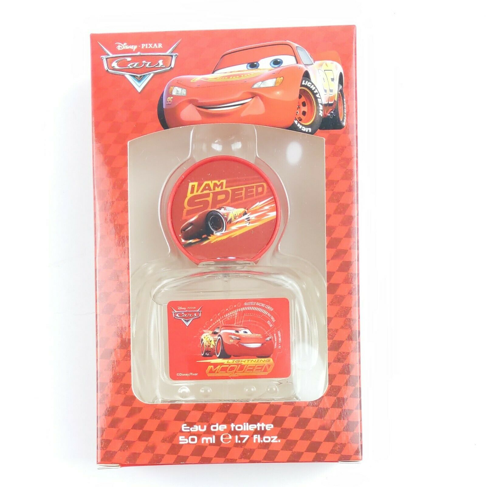 Disney Pixar Automobiles Eau de Toilette Cologne Spray 1.7 ouncesKids Lightning Mcqueen