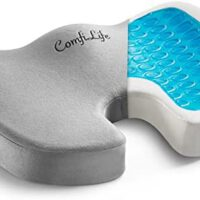 ComfiLife Gel Enhanced Seat Cushion – Non-Slip Orthopedic Gel & Reminiscence Foam Coccyx Cushion for Tailbone Ache – Workplace Chair Automotive Seat Cushion – Sciatica & Again Ache Reduction